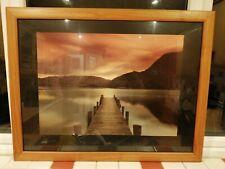 Mel Allen - Ullswater - Ready Framed Picture In mahogany Frame