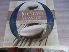 Sterling Innovation~HOT STONE MASSAGE~14 Flat Stones~64 Page Book~NEW