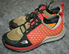 The North Face Mens Sneakers Shoes Red & Tan US 7.5 M
