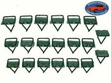"GM 3/4""x3/4"" Body Belt Side Door Top Moulding Molding Trim Clips Clip 20pc X"