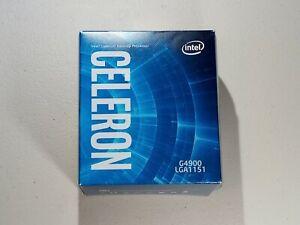Intel Celeron G4900 3.1 GHz LGA 1151 (300 Series) Desktop Processor