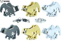 Locking Latch Kit for Harley Davidson Sissy Bar Upright Backrest Luggage Racks
