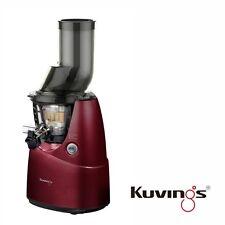 Kuvings Whole Slow Juicer B6000PR Farbe Rot inkl. Rezeptbuch mit 60 U/min