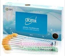 Atomy Toothbrush 99.9% Gold Coated Nano Vitality Brush Oral Care (8pcs / 1set)