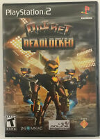 Ratchet: Deadlocked BLACK LABEL (Sony PlayStation 2) NEW-FACTORY SEALED PS2