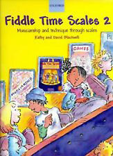 Fiddle Time Scales 2 Violin Children's Sheet Music Book Blackwell S87