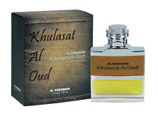 Khulasat Al Oud Perfume Spray 100ml Al Haramain - Leather, Oud, Amber, Sweet