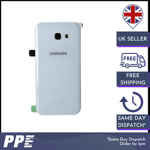 Genuine New Samsung A5 2017 A320 Blue Replacement Battery Back Case Cover