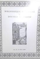 1969 Catálogo De Venta Drouot Biblioteca Parisienne Dr M. Vimont
