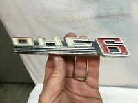 Vtg OHC 6 Car Pontiac Tempest Overhead-cam emblem Jeep Willies Tornado? Rat Rod