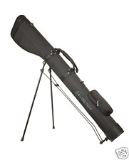 """Black"" Hamilton Shotgun Case, Gun Slip, Gun bag, clay shooting stand 54"" long"