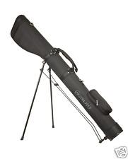 """Black"" Hamilton Shotgun Case, Gun Slip, Gun bag, clay shooting stand 54"" long"