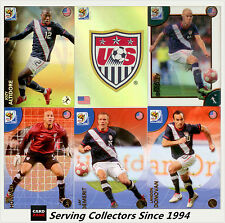 2010 Panini South Africa World Cup Soccer Cards Team Set USA (8)