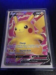 Pokemon TCG Vivid Voltage Pikachu V Full Art 170/185 Ultra Rare