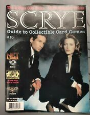 SCRYE MAGAZINE #16, Sept. 1996 THE X FILES