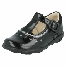 Leather Upper Shoes with Lights for Girls