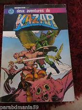 Kazar album numéro 1-Artima color-Marvel-2 aventures-130 pages(1982)