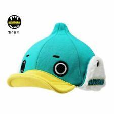 Elstinko Duck Hat Kids Adjustable Snapback Baseball Cap with Faux Fur Ear Covers