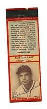 1934 Diamond Matchbook Bob Garbark Signed Chicago Cubs