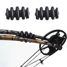 1Pair Bow Limb Vibration Stabilizer Archery Damper Absorber Compound Bow Hunting