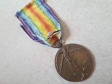 Médaille décoration militaire Medal INTERALLIEE VICTOIRE 14-18 Belgique