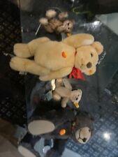 steiff bears Lot Of 4.       Lot 6