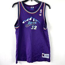 Karl Malone #32 Utah Jazz NBA Champion Jersey Youth XL 18-20 Purple