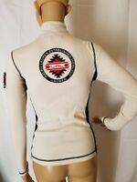 LRL Ralph Lauren Active Sweatshirt Half Zip Running Womens Embroidered Logo XS