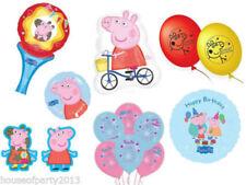 Globos de látex de fiesta Amscan color principal rosa