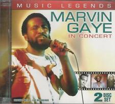 Music CD Music Legends Marvin Gaye In Concert
