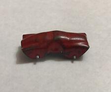 Vintage Pressed Steel Red Race Car Metal Wheels Crackerjack Prize Vending Toy