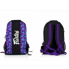 Fairtex Bag4 Back Pack Sport Martial Arts Premium Grade Muay Thai Boxing Mma K1