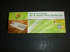"""7 Duck General Purpose Air&Heat Vent Deflector, Adjusts For Vent Size 10""""To14"""","""