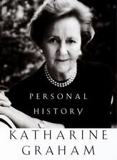 PERSONAL HISTORY by Katharine Graham FREE USA SHIPPING hardcover book The Post