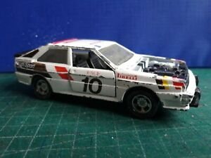 MATCHBOX SUPER KINGS AUDI QUATTRO RALLY CAR 1982 MADE IN ENGLAND.