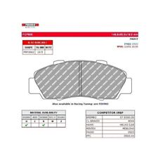 Ferodo DS3000 Front Brake Pads for Honda Accord / Civic FCP905R ***CLEARANCE***
