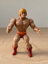 1982 Mattel - Masters of the Universe - He-Man SOFT HEAD - Vintage Action Figure