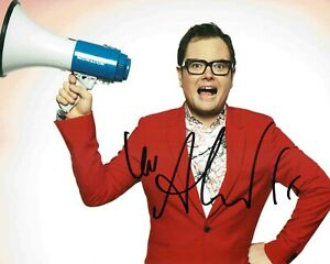 Alan CARR SIGNED Autograph 10x8 Photo 1 AFTAL COA Stand Up Comedian Chatty Man