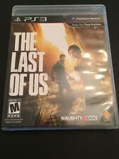 2013 The Last of Us (Sony PlayStation 3) No Manual Works 100% Clean
