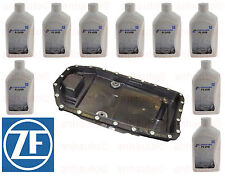 OEM ZF Automatic Transmission Filter Kit & Oil Pan with 9 -Liters ZF Lifeguard 6