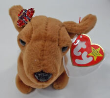 BEANIE BABY DRESSED FOR RED HATTING FUN GREAT FOR A GIFT FOR LADIES OF SOCIETY