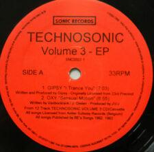 TECHNOSONIC Volume 3 EP on SONIC Techno House