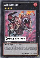 Yu-Gi-Oh ! Carte Grénosaure BP01-FR026 ( par 3 !!)  - Rare