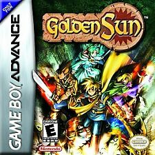 ***GOLDEN SUN GAME BOY ADVANCE GBA COSMETIC WEAR~~~