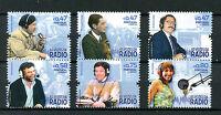 Portugal 2016 MNH Voices of Radio 6v Set Ana Galvao Fernando Pessa Stamps