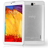 "Indigi® 7"" Android Quad-Core Tablet PC Entertainment WiFi Bluetooth Google Play"