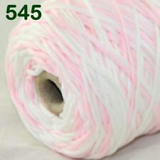 Sale New 400gr Cone Yarn Soft Cotton Super Bulky DIY Hand Knit Wrap Shawls 45