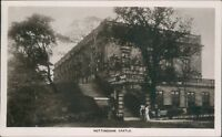 Nottingham; the castle; 1908; JW ruddock real photo