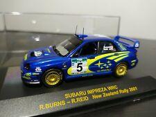 1/43 IXO Subaru Impreza WRC Burns Reid Rally New Zealand 2001 Rallye SWRT