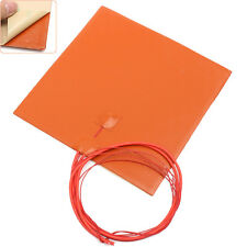 200mmx200mm Waterproof Flexible Silicone Heating Pad Heater For 3d Prin 12V 200W